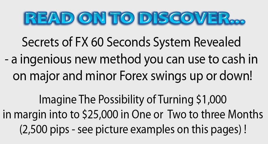 60 second forex system